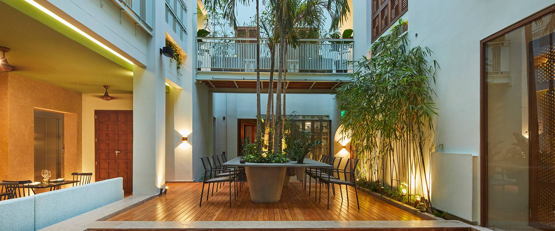 Boutique hotel with a colombian   and sustainable luxury design casona del colegio hotel cartagena de indias